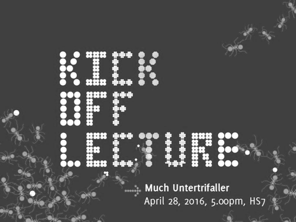 Vortrag: 28.4.16, In Between Lectures, TU Wien