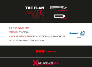 3 prizewinners: The Plan Award 2017