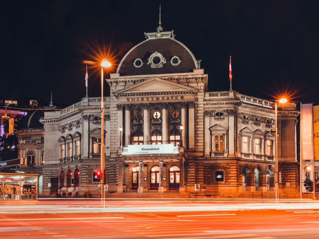 Volkstheater Renovation Vienna At Dietrich Untertrifaller