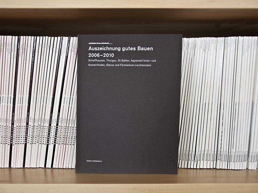 Auszeichnung gutes Bauen 2006-2010