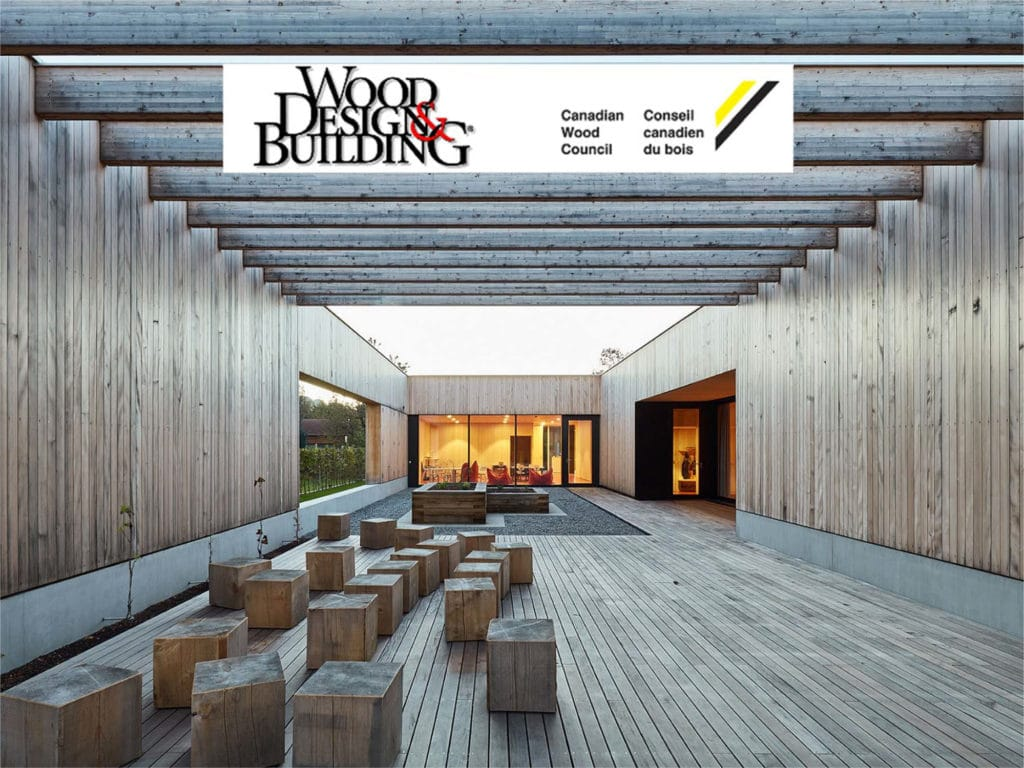 Triple Victory: Canadian Wood Design Awards 2017