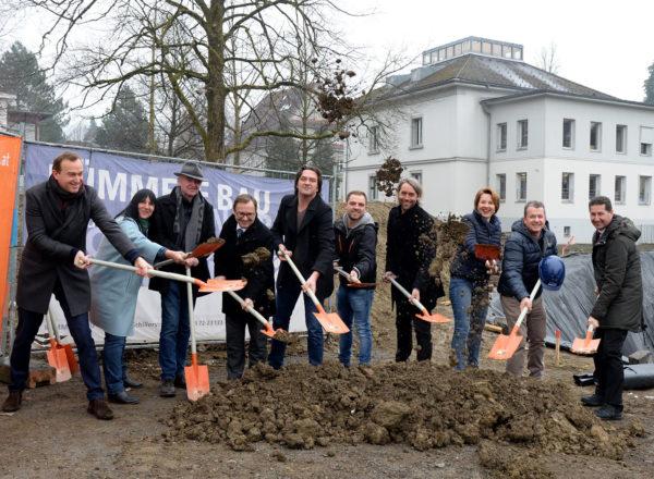 Ground-breaking ceremony: Dornbirn Public Library