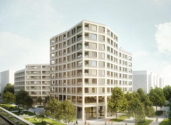 Gewonnen: Quartier Am Seebogen, Seestadt Aspern, Wien