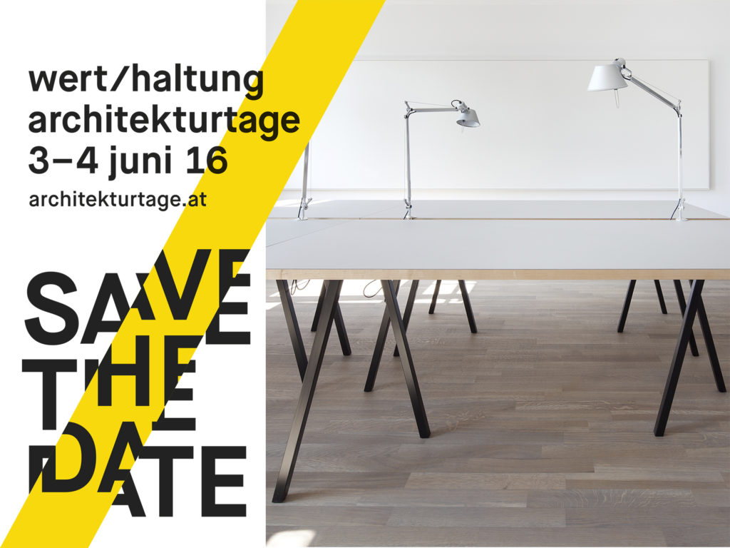 Open house: Architekturtage, Bregenz, 3./4.6.16