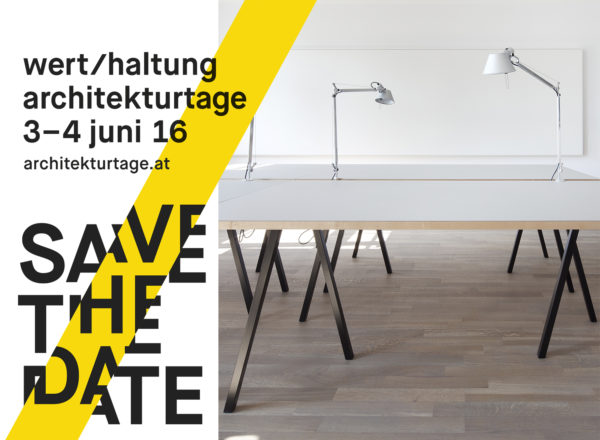Open house: Architekturtage, Bregenz, 3./4.6.16