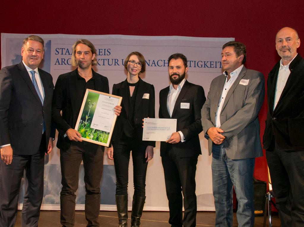 Gewonnen: Staatspreis Architektur & Nachhaltigkeit 2017
