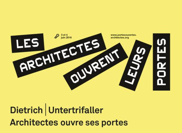 Journée porte ouverte: Paris, 3.6.16