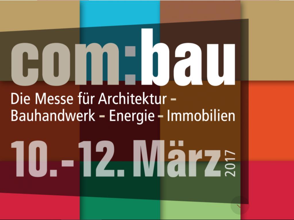 Vortrag: 10.3.17, Messe com:bau, Dornbirn