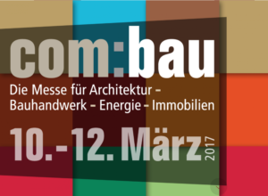 Lecture: 10.3.17, com:bau trade fair, Dornbirn