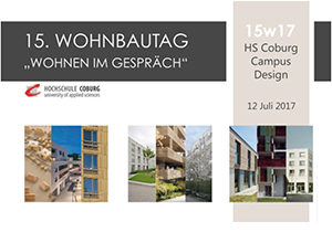 Lecture: 12.7.17, Housing in Vienna, Wohnbautag Coburg