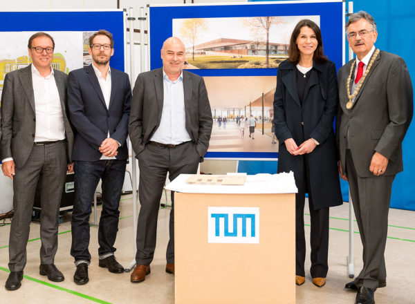 Grundsteinlegung: TUM Sportcampus im Olympiapark München