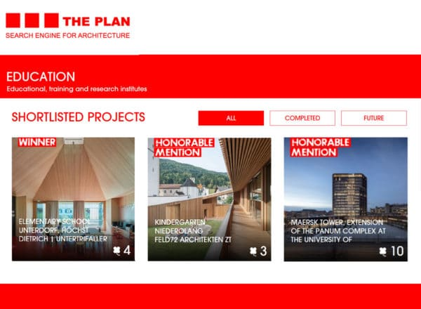 Award: The Plan Award 2018