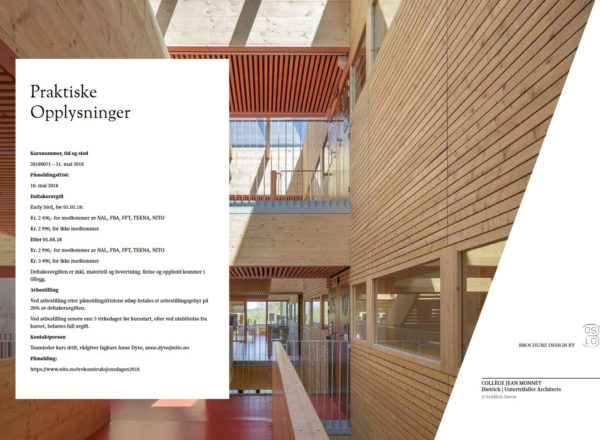 Lecture: 30./31.5.2018, Timber construction conference Oslo