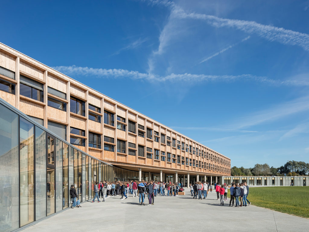 Award: PAEB Architecture Prize of Brittany for Simone Veil College in Lamballe