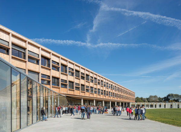 Won: PAEB Architecture Prize of Brittany for Simone Veil College in Lamballe