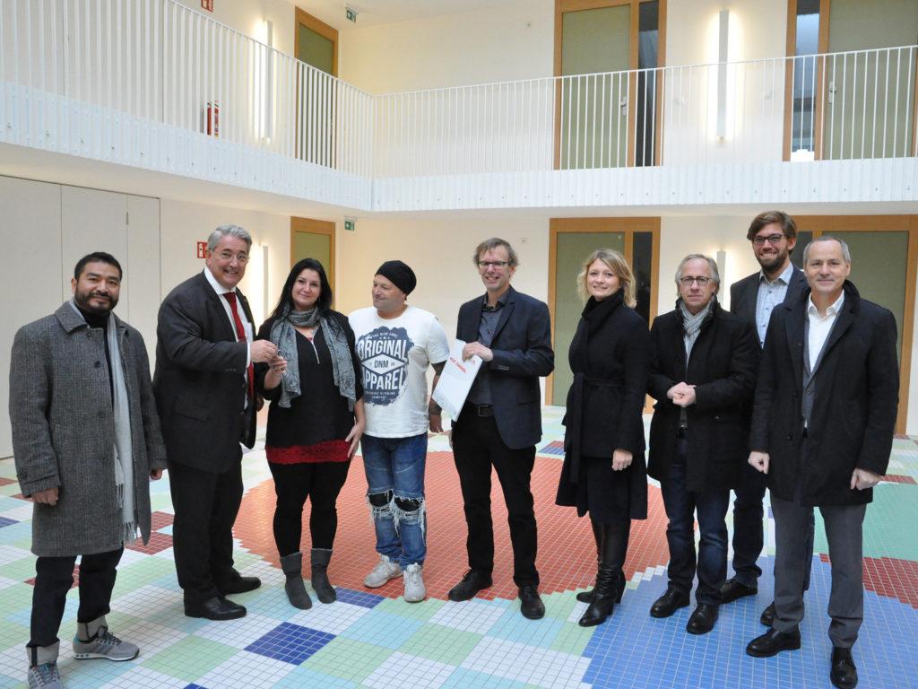 Eröffnung: Wohnanlage Hirschstettner Straße