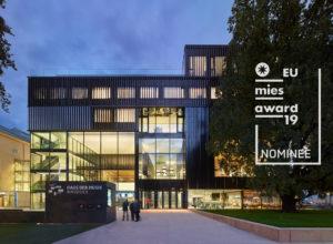 EU Mies Award 2019 – Haus der Musik Innsbruck nominiert