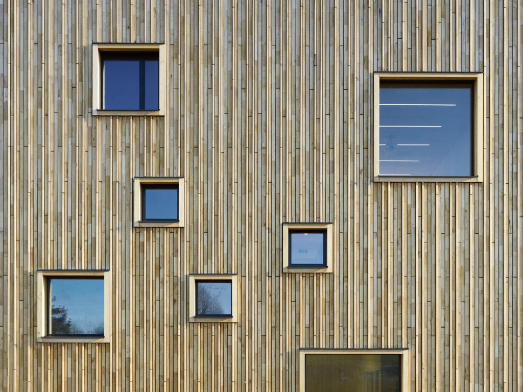 Gewonnen: NÖ Holzbaupreis 2019 für Wibeba Verwaltung in Wieselburg