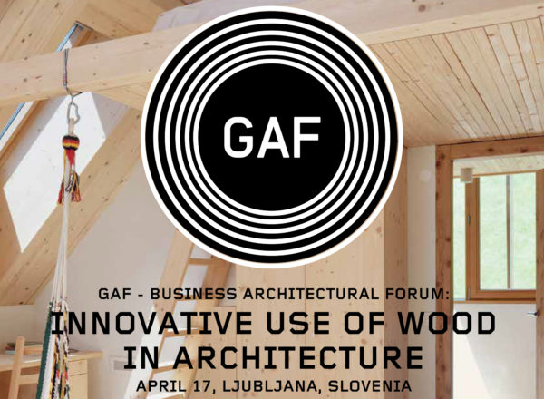 Lecture: 17.4.2019, GAF Forum, Ljubljana