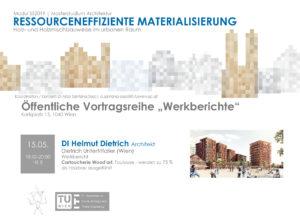 Lecture: 15.5.2019, work report, TU Vienna
