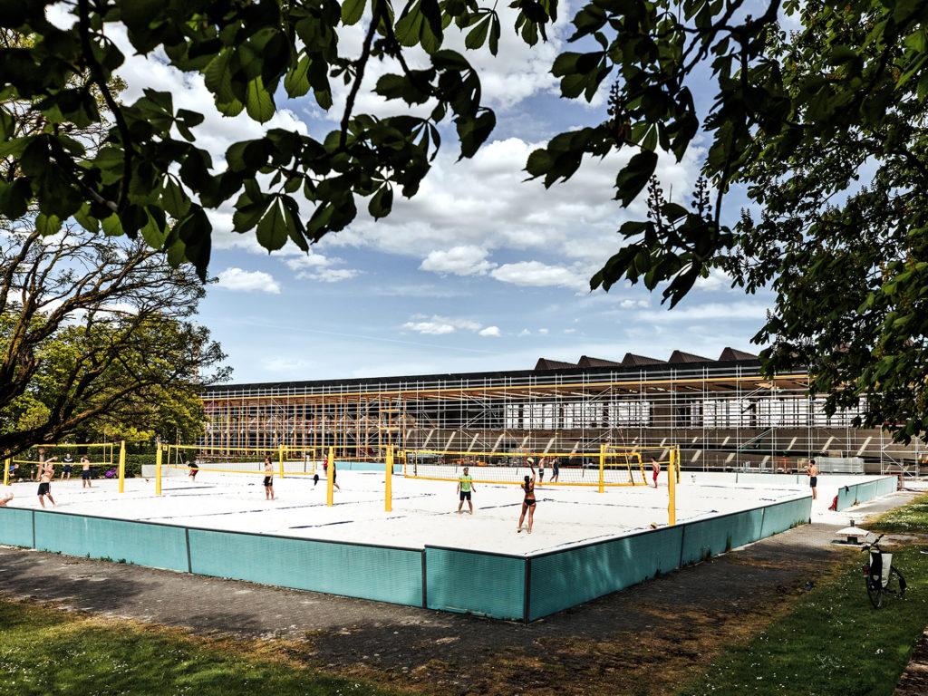 Richtfest: TUM Campus im Olympiapark München