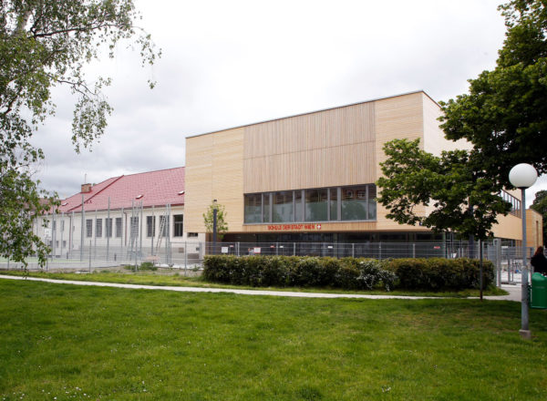 Opening: Christian Bucher Gasse Elementary School, Vienna