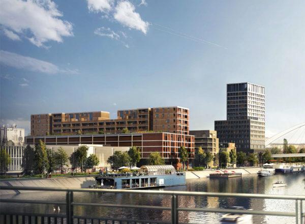 Gagné : Concours Citadelle Dock 1, Deux Rives, Strasbourg