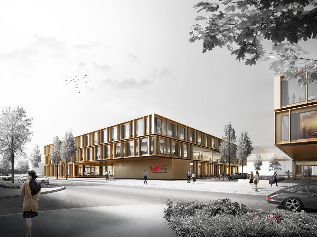 Gewonnen: Wettbewerb Hightech Innovation Center Würth, München-Freiham