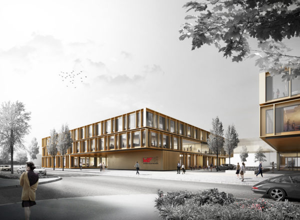 Won: Competition Hightech Innovation Center Würth, Munich-Freiham