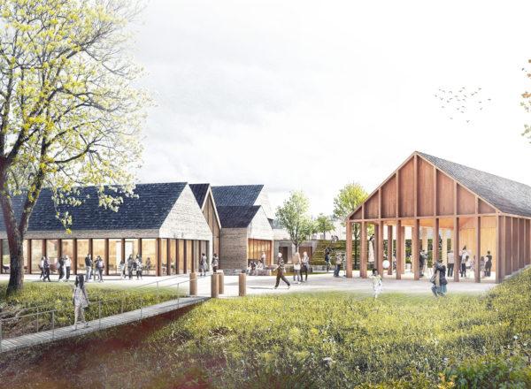 Gewonnen: Wettbewerb Kultur- & Heimathaus in Blankenberg (DE)