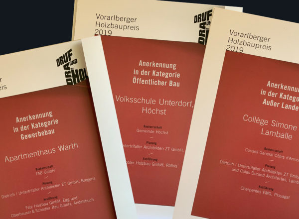 Won: 3 projects awarded the Vorarlberg Timber Construction Prize