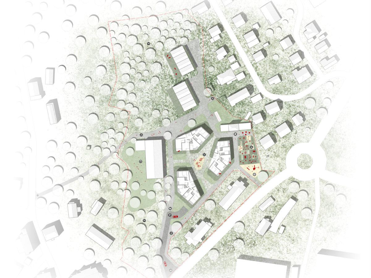 Gewonnen: Wettbewerb Wohnquartier Alte Stadtgärtnerei, Lindau