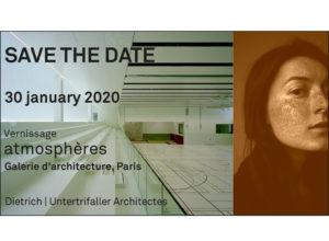"""Vernissage """"atmosphères"""": 30.01.2020, Paris"""
