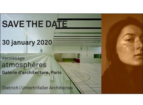 """Vernissage """"atmosphères"""" : 30.01.2020, Paris"""