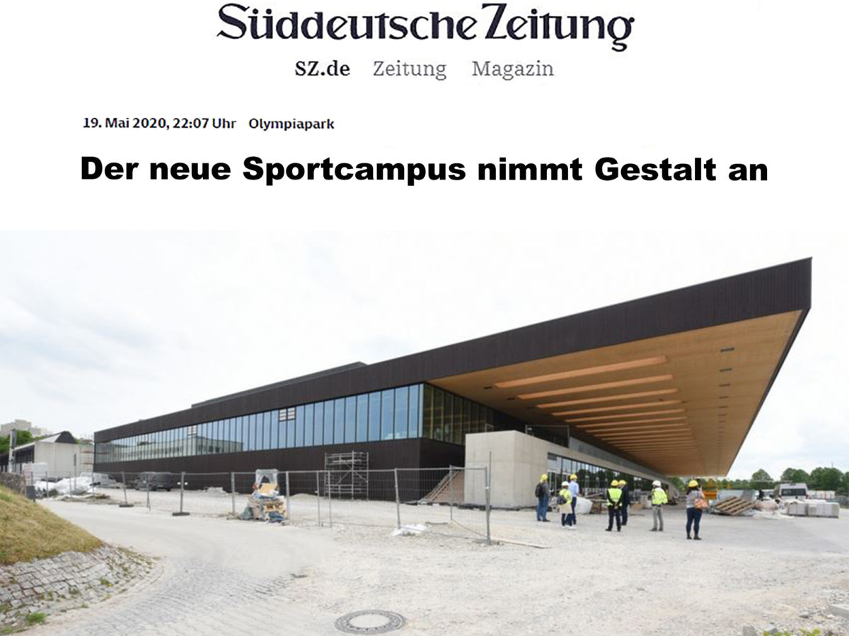 Press: Site visit of the Süddeutsche Zeitung at the TUM Campus in the Olympiapark