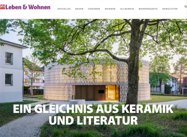 Press: Public Library Dornbirn featured as cover story in the weekend supplement