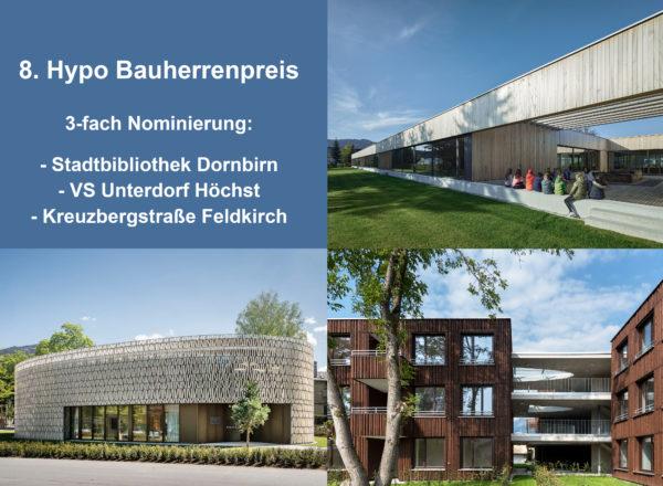 Nomination: Hypo Bauherrenpreis 2020
