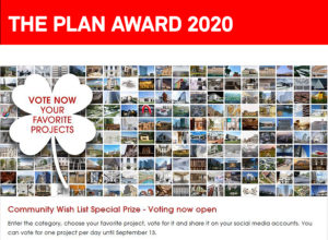 Finalisten: THE PLAN AWARD 2020