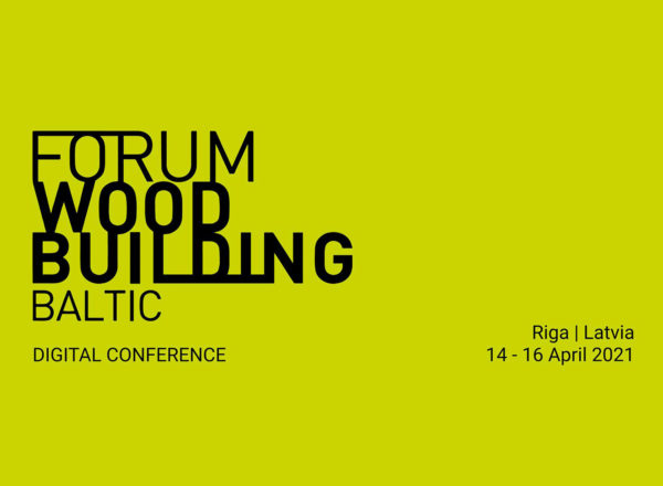 Lecture: 15.04.2021, Forum Wood Building