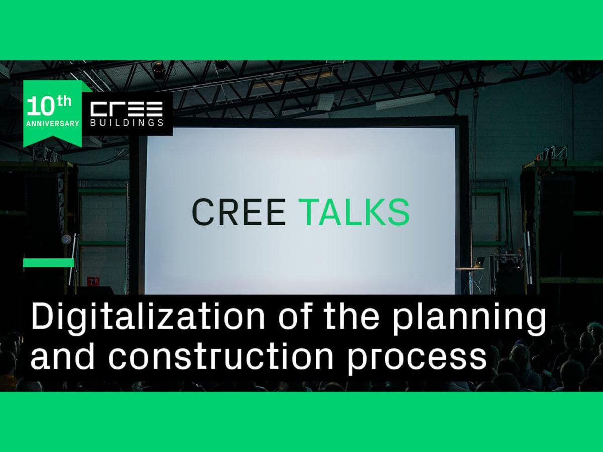 Vortrag: 29.04.2021, CREE Talk Digitalisierung