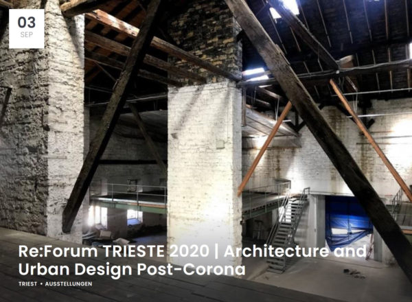 Lecture: 05.09.2020, Re:Forum Trieste