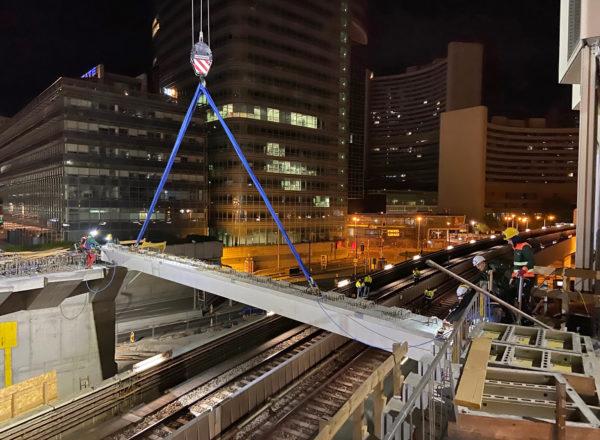 DC Tower 3: Bridging at night