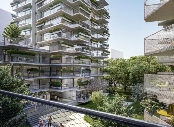 "Fixstarters for residential project in the new ""Village im Dritten"" quarter"