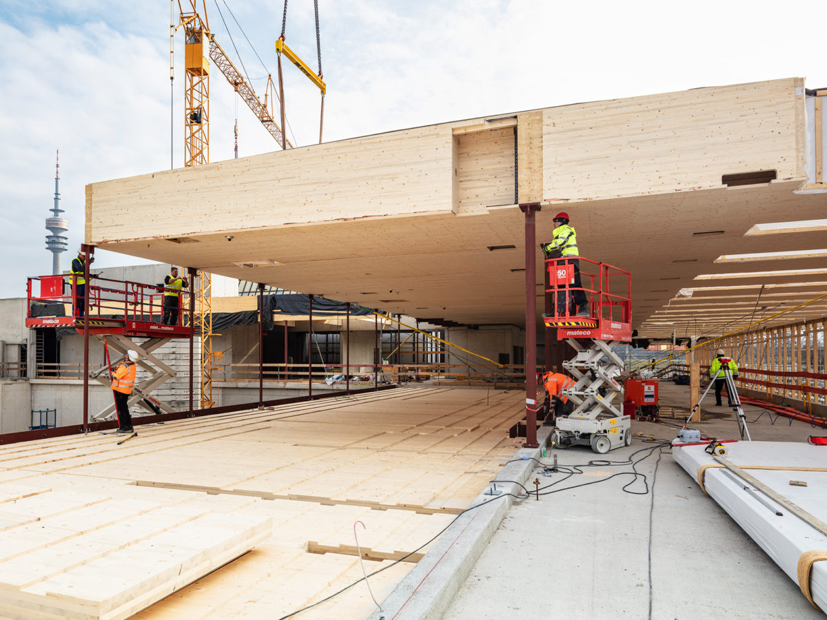 Pioneers of modern timber construction – 230,000 m² timber & timber hybrid buildings