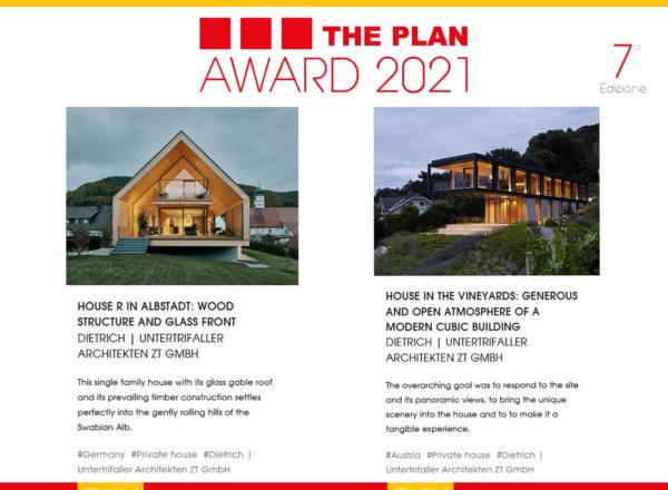 Nomination: The Plan Award 2021 Shortlist
