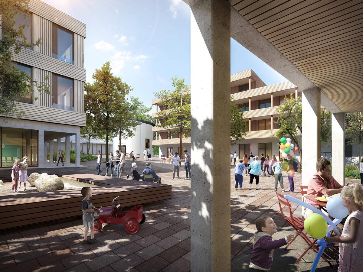 Gewonnen: Wettbewerb Quartier Meierhof Eisenstadt