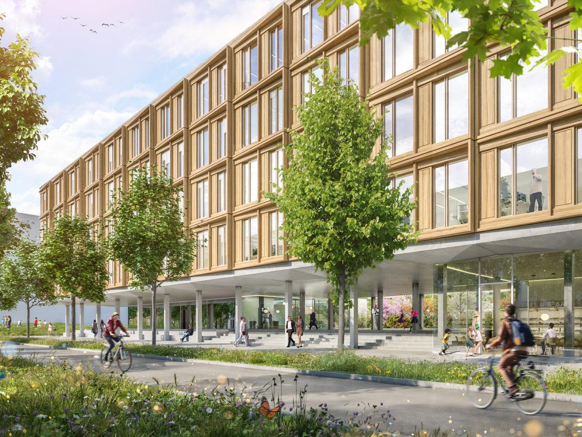 Gewonnen: Wettbewerb Verwaltung Wiesbaden