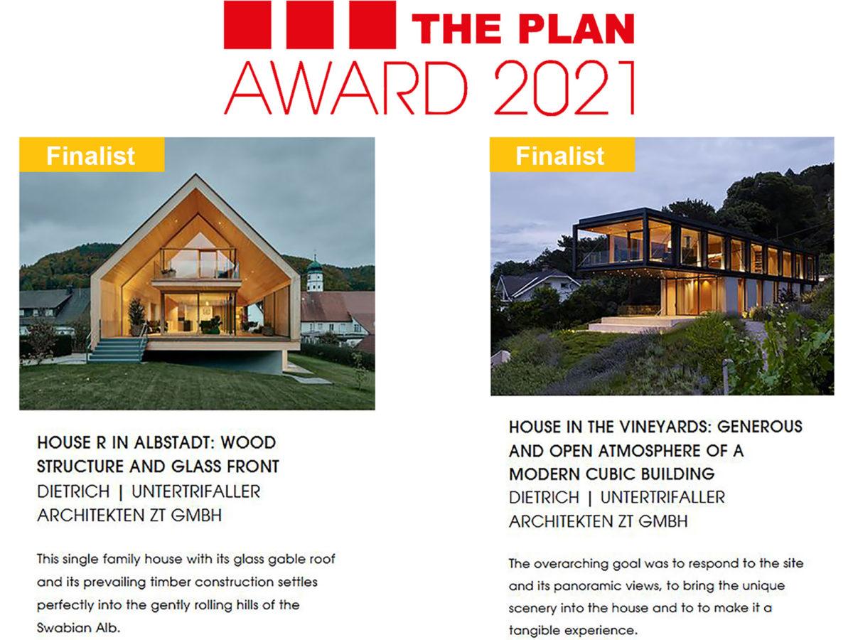 2 Finalisten: The Plan Award 2021