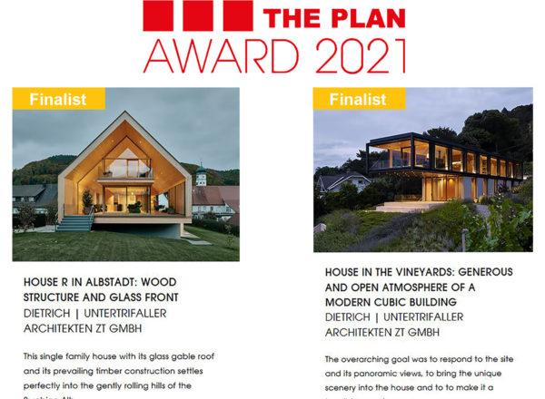 2 Finalists: The Plan Award 2021