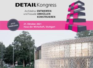 Vortrag: 21.10.2021, Detail Kongress, Stuttgart